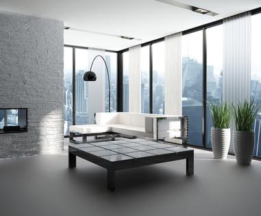 Des fenêtres aluminium amènent luminosité
