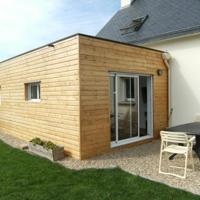 Faie une extension à sa maison, en ossature bois